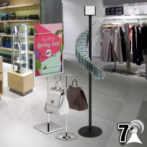 ACCESSORY, BAG, BELT DISPLAY STANDS