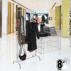 PROMOTION CAGE DUMP BIN, GRIDWALL DISPLAY STANDS